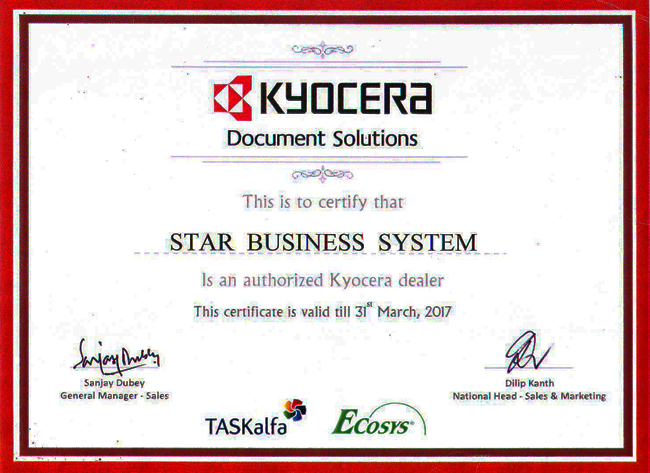 Kyocera Authorised Dealer Punjab